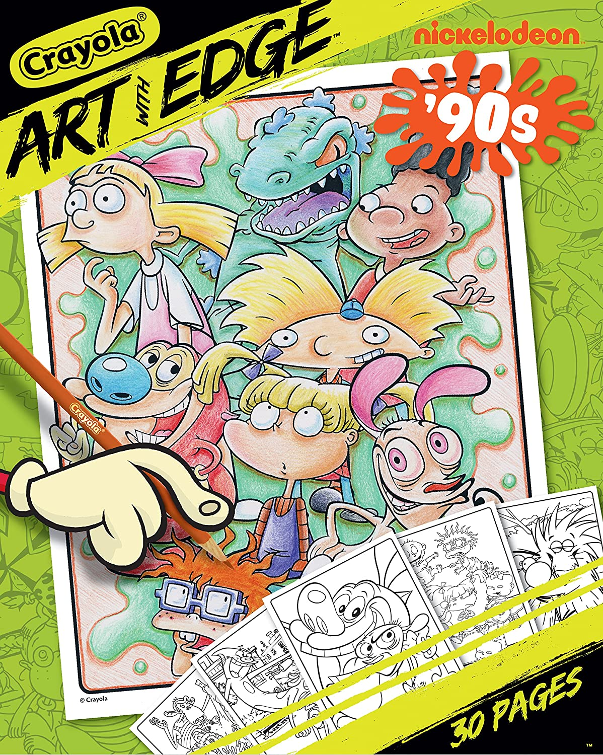 Update: Now Only $1.50!!! - Crayola Art with Edge Coloring ...